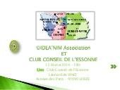 Rencontre-débat au Club Entreprises de l'Essonne, 2014 Une présentation de Christine COURTY, Consultante : Conseils, Accompagnement, Formation.